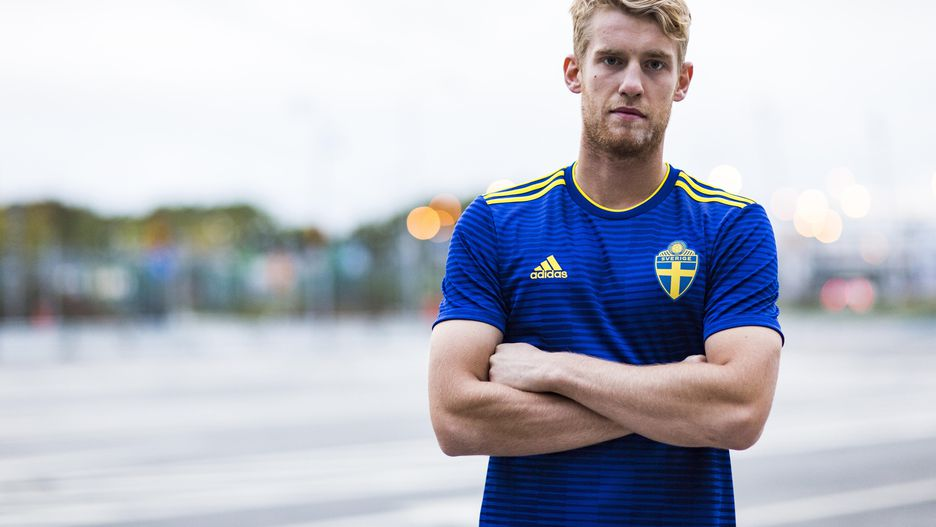 Sweden carries the blue like the blue sea