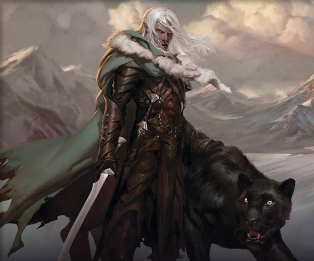 Eligiendo clase en Dungeons & Dragons - Drizzt