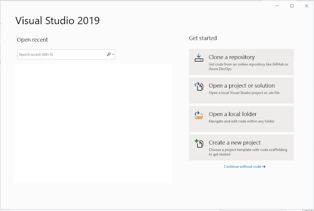 visual studio 2019
