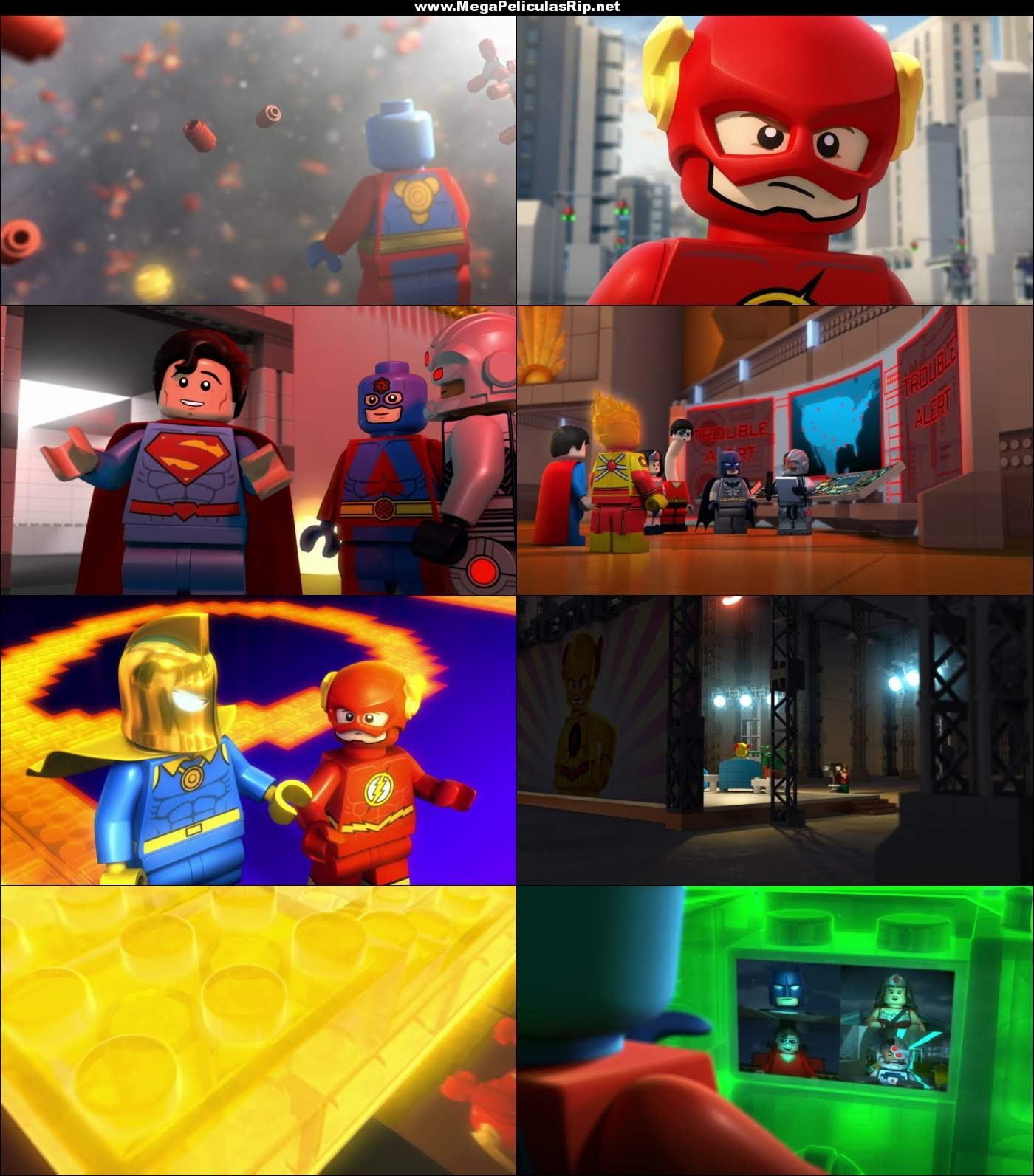 Lego DC Comics Super Heroes Flash 1080p