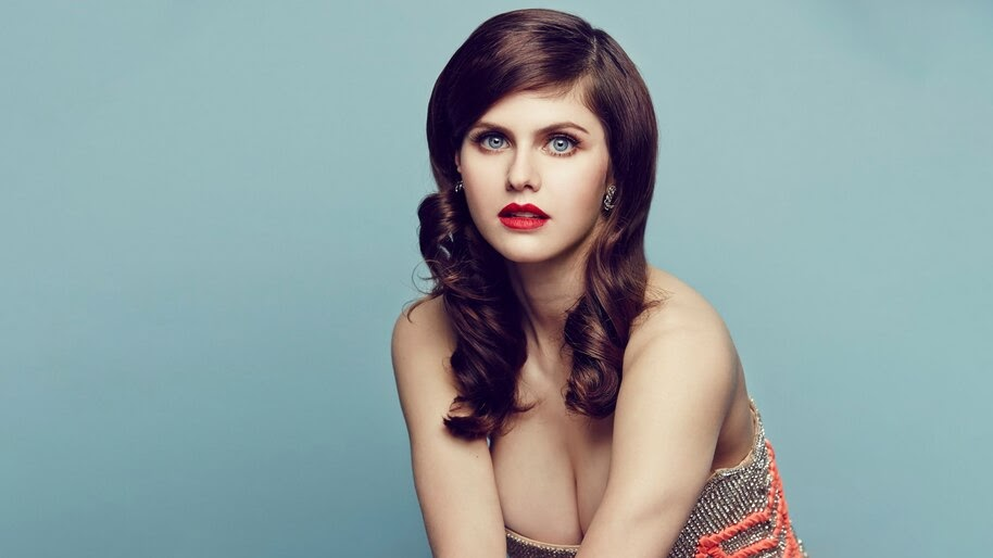 Alexandra Daddario, Beautiful, Brunette, 4K, #4.599