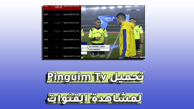 تحميل تطبيق Pinguim Tv apk لمشاهدة القنوات المشفرة و متابعة الأفلام للأندرويد