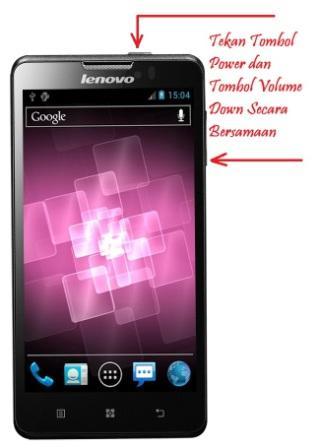 Cara Screenshot Layar Android Lenovo