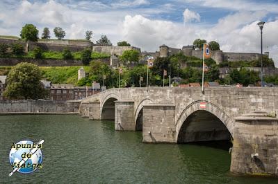 Namur, Valonia, Puente