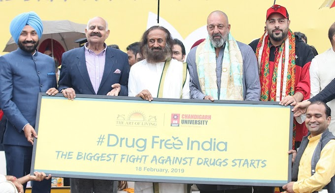 Nationwide 'Drug Free India' campaign launched at Chandigarh University