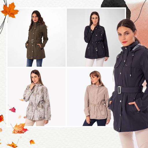 Cómo combinar casacas para mujer cortaviento