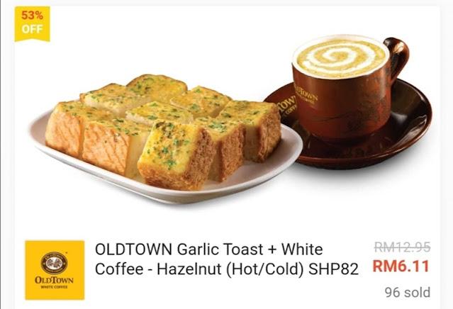 Oldtown White Coffee Diskaun Lebih 50%