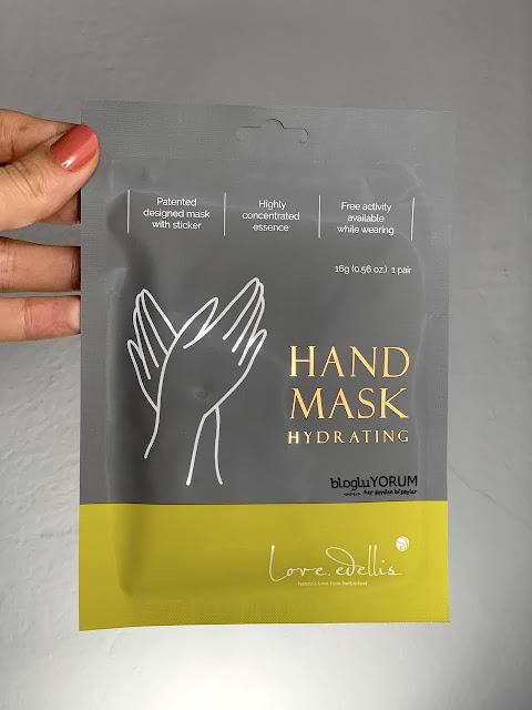 Love Edellis Hand Mask El Maskesi limonian