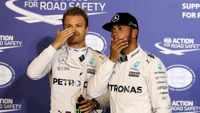 Soal Persaingan dengan Rosberg, Hamilton Belajar dari Pengalaman 2008
