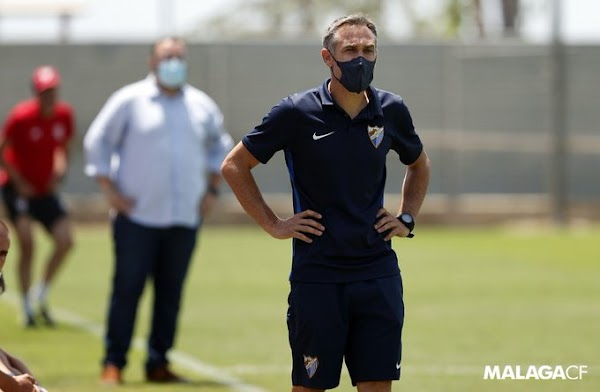 Oficial: Málaga, no sigue el técnico Nacho Pérez del Juvenil DH