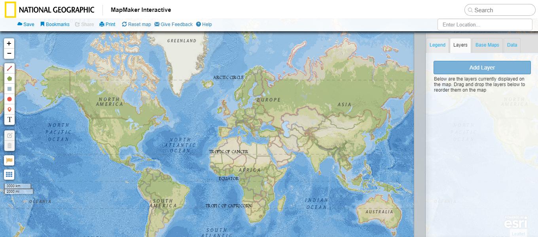 Mapmaker Interactive | Mis herramientas digitales