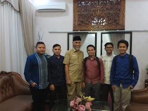 Jelang Pelantikan, PRIMA DMI Sumbar Kunjungi Walikota Padang