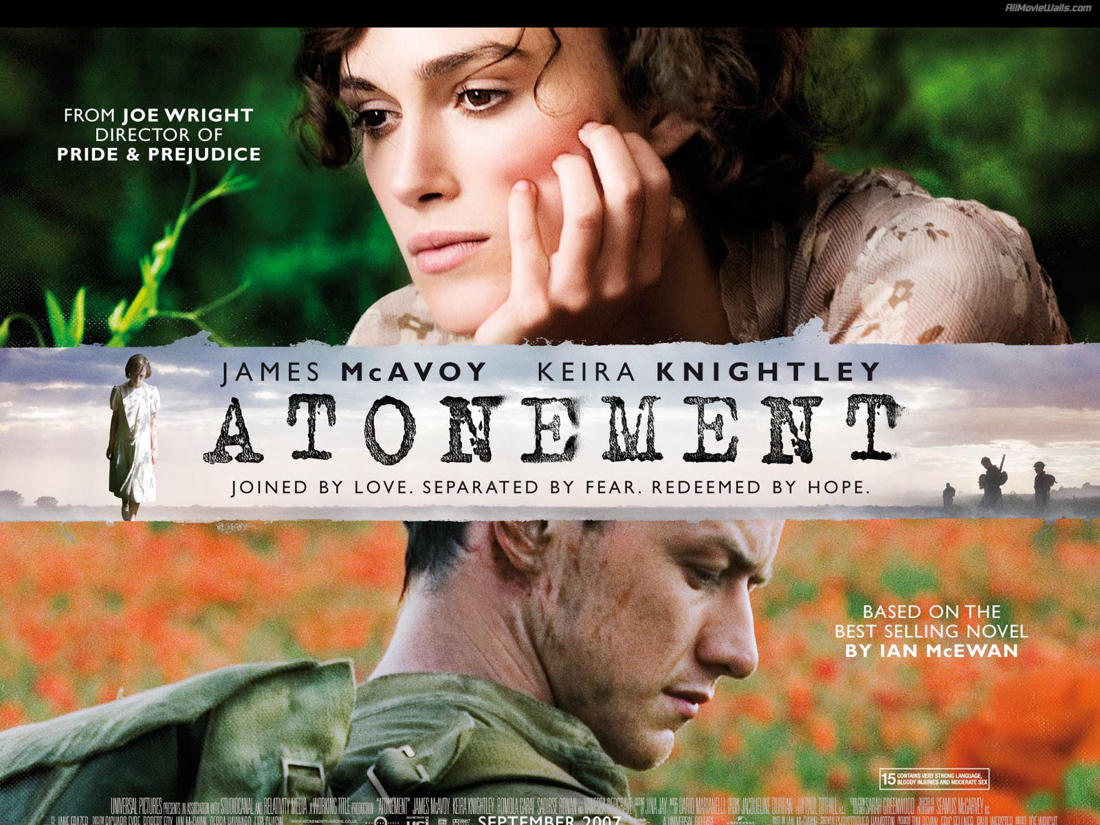 Low-key Golden Globes sees Atonement win