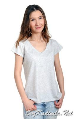 organik basic tshirt modası modelleri