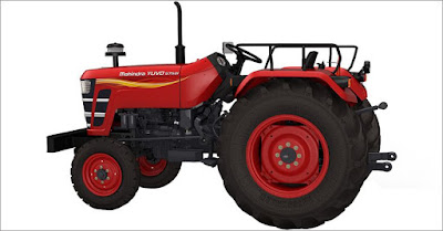 Mahindra YUVO Tractor side look hd image