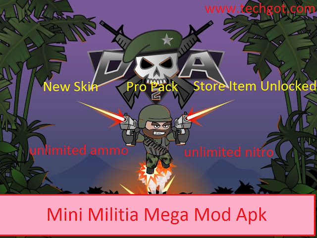 Mini-Militia-Mega-Mod-by-techgot