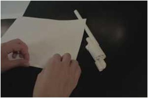 Cách làm khẩu súng côn bằng giấy