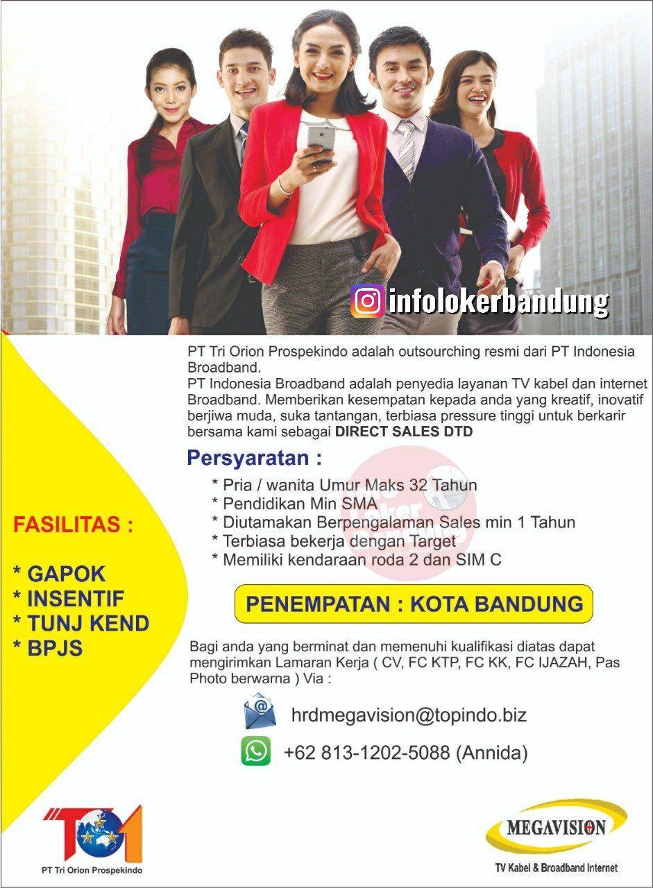 Lowongan Kerja Megavision Bandung Juli 2019