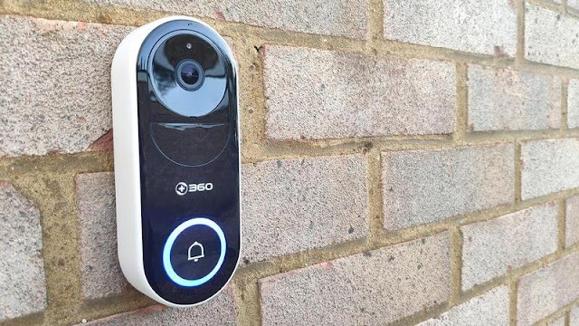 6. 360 D819 Smart Video Doorbell