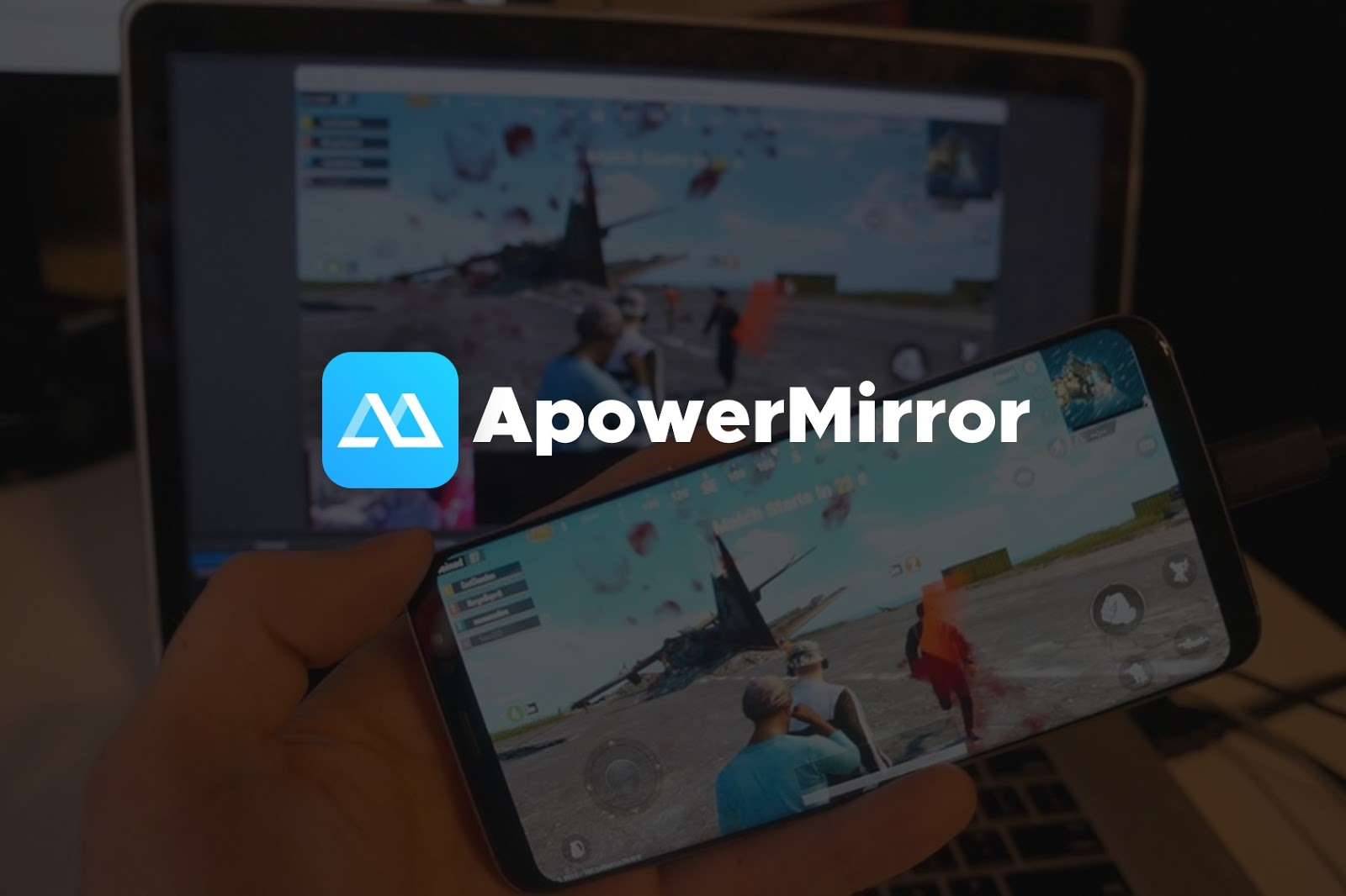 ApowerMirror + Serial