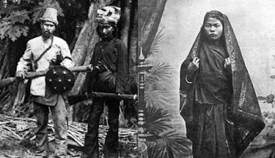 Gambar Pakaian Masyarakat Aceh Tempo Dulu