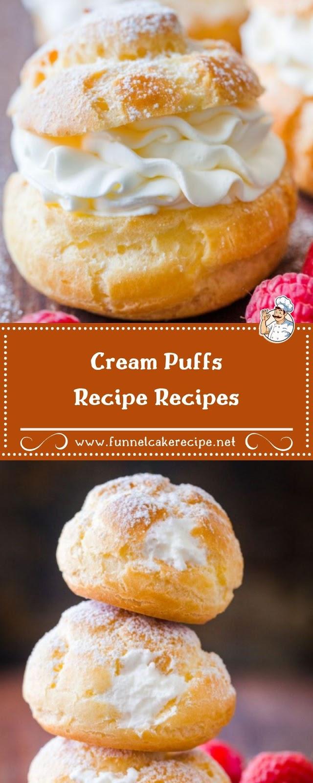 Cream Puffs Recipe Recipes