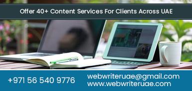 Website Writers Dubai