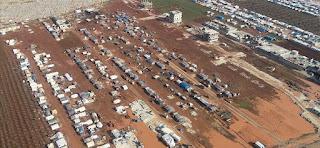 إدلب.. نزوح 20 ألف مدني نحو الحدود التركية