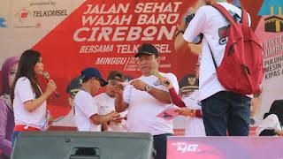 Jalan Santai Wajah Baru Kota Cirebon Ajang Silaturahmi Masyarakat