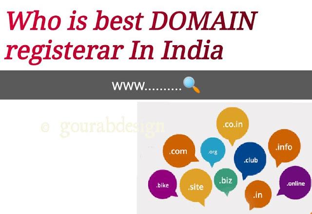 Best Domain Name Registrar in India 2020