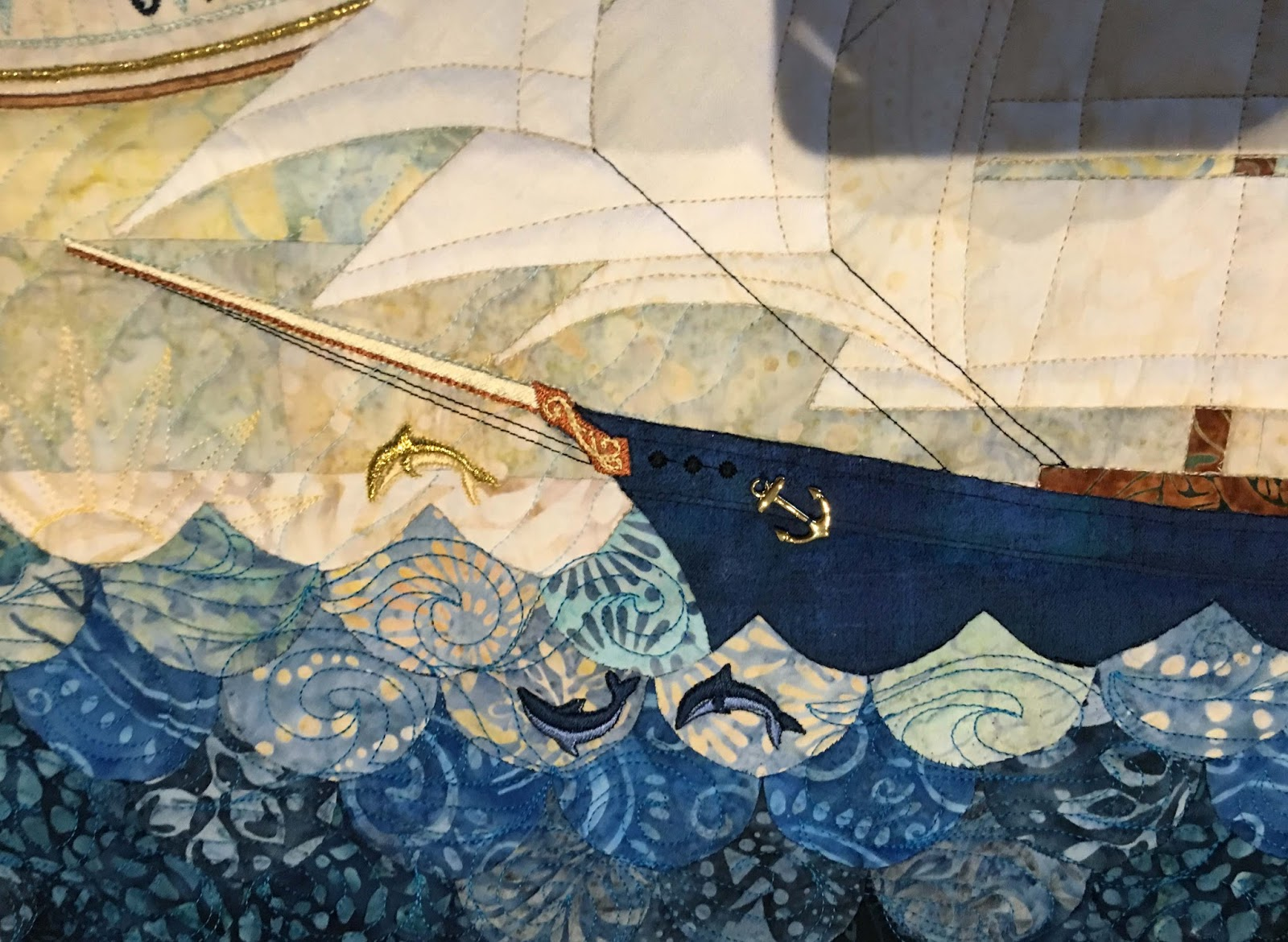 Ship Shape And Fashionable: San Francisco Stitch Co.: All Ship Shape & Bristol Fashion