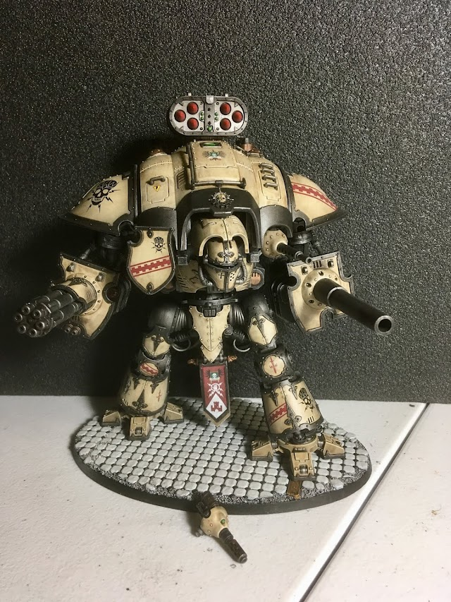 What's On Your Table: Knight Crusader