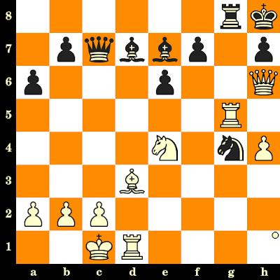 Les Blancs jouent et matent en 3 coups - Thorsten Oest vs Peter Gellrich, Allemagne, 1991