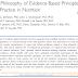 A filosofia dos princípios e práticas baseadas em evidências em nutrição