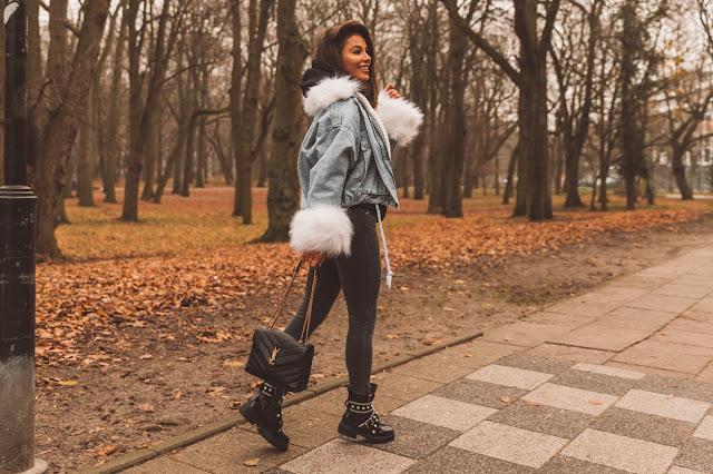 Jeansowa kurtka w wersji zimowej  - Czytaj więcej