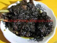 Resep Masakan Bebek Madura Goreng Bumbu Hitam