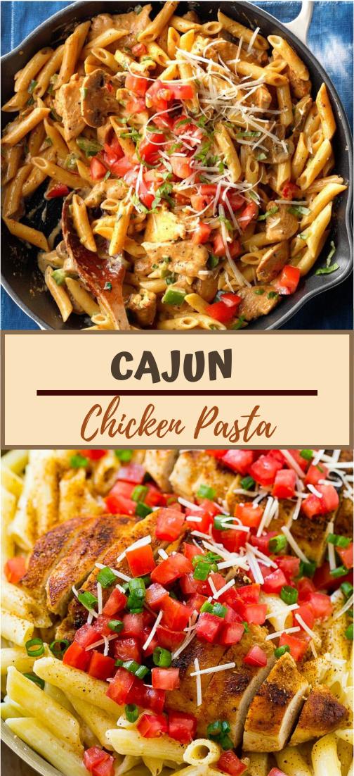 CAJUN CHICKEN PASTA #dinnerrecipe #food #amazingrecipe #easyrecipe
