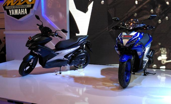 Yamaha Aerox 155 Meluncur dalam 3 Tipe Harga Rp 21 juta - Rp 25 juta
