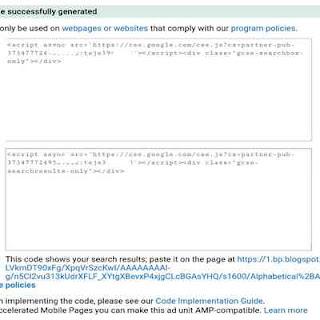 Cara memasang iklan adsense CSE Google