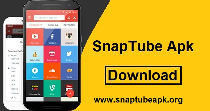 Sanptube Baixar APK Download | Para for PC ~ SnapTube Apk