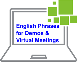 English Phrases to use in Client Demos and Meetings