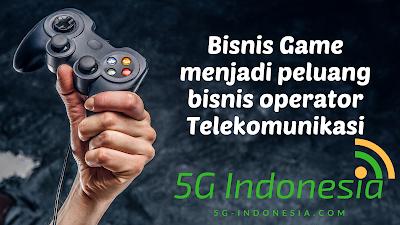 Game menjadi peluang bisnis operator Telekomunikasi
