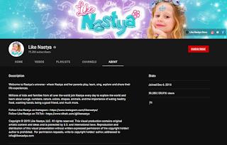 Like Nastya youtube channel