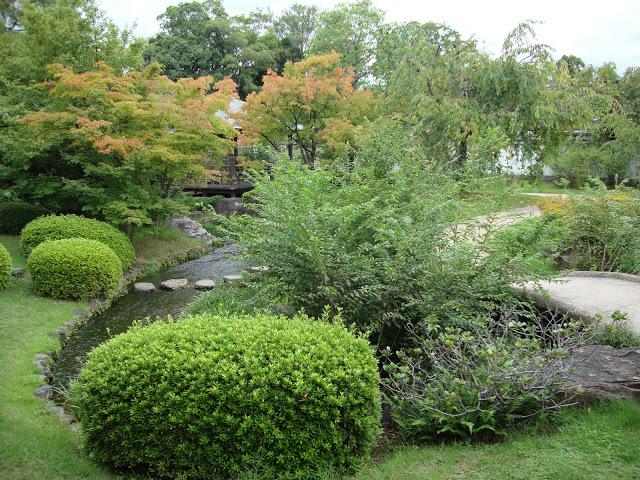 I colori delle foglie del Kokoen si fanno autunnali