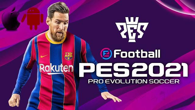 تنزيل لعبة كرة القدم المحبوبة PES 2021 للاندرويد والايفون