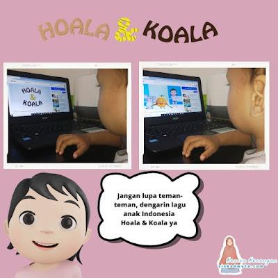 Hoala koala rekomendasi lagu anak Indonesia