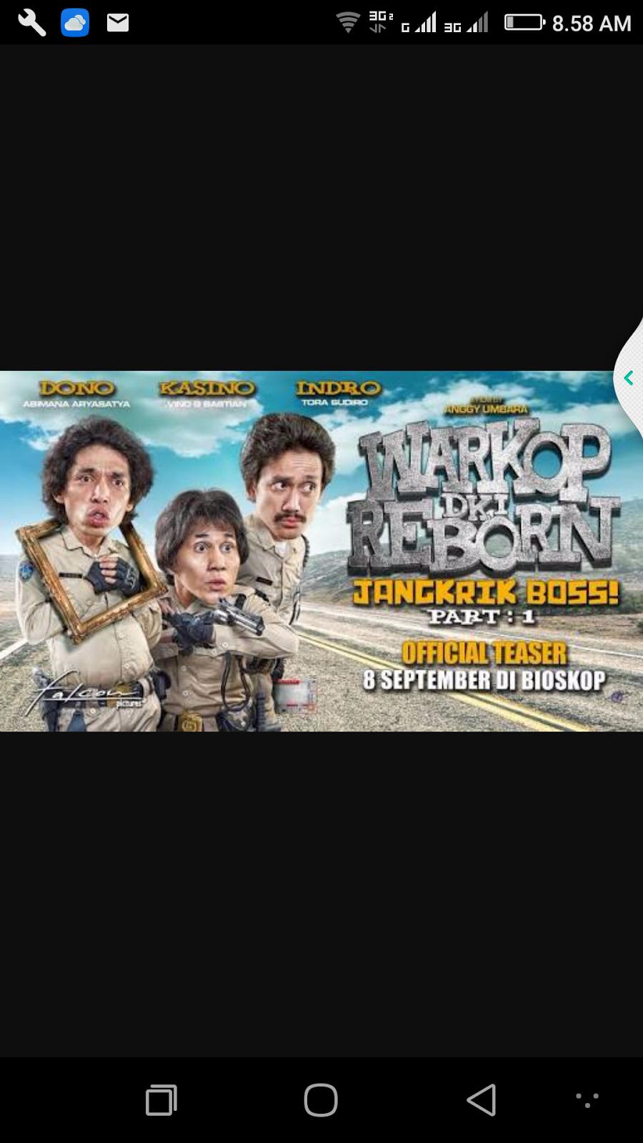 """Review Film: Cerita Warkop DKI Reborn """"Jangkrik Bos"""" Part ..."""
