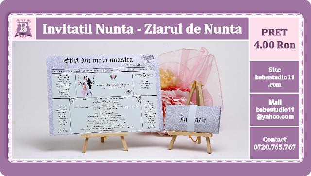 Invitatii Nunta Ziarul de Nunta